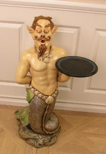 Neptun Meeresgott Figur Statue Butler Figur und Dekoration