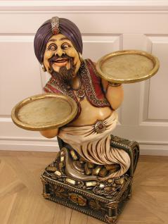 Butler Araba Ali Baba Figur Statue Skultur Butlerfigur