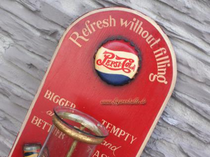 Pepsi Cola Kerzenwandhalter Werbung Schild Deko Antik Nostalgie - Vorschau 2