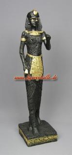 Ägyptische Statue schwarz