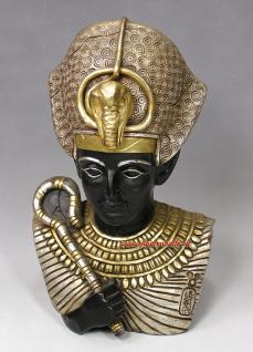 Ramses II Büste Figur Ägyptische Ägypten Deko Dekoration Sammler