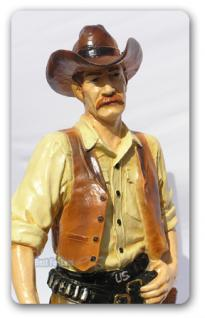 Cowboy Dekofigur Western Country Fans Figur Statue