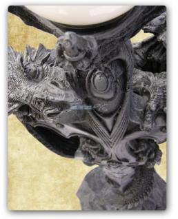 Drachen Stehlampe Lampe Figur Statue Deko - Vorschau 4