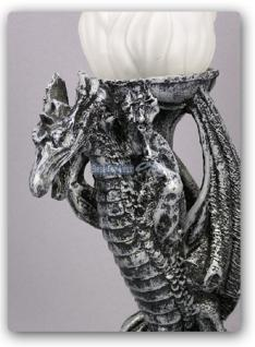 Drachenlampe - Drachenfigur Drachen Lampe - Vorschau 2