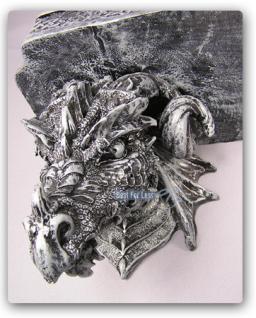 Drachen Figur Drachen Wandbord Wand Regal