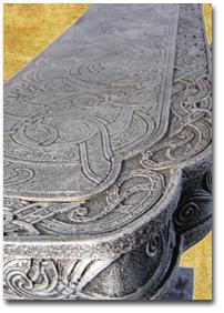 Drachen Tisch im Bord Style Figur Statue Möbel - Vorschau 4