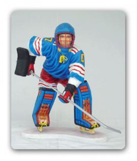 Eishockey Spieler Figur Deko Aufstellfigur Statue