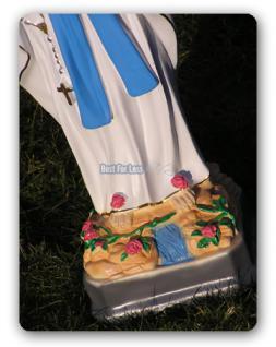 Heilige Mutter Maria Madonna Statue Figur - Vorschau 3