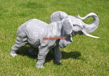 Elefant als Figur Skulptur Statue Deko Afrika Tier - Vorschau 4
