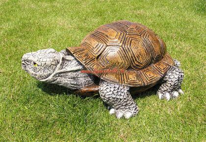 Schildkröte als Dekofigur Figur Dekoration Garten - Vorschau 3