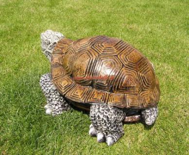 Schildkröte als Dekofigur Figur Dekoration Garten - Vorschau 4