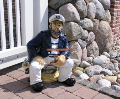 Kapit n maritime dekofigur figur deko kaufen bei helga Maritime deko figuren