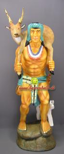 Indianer Dekofigur Aufstellfig