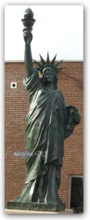 Freiheitsstatue Liberty Werbefigur Figur Statue