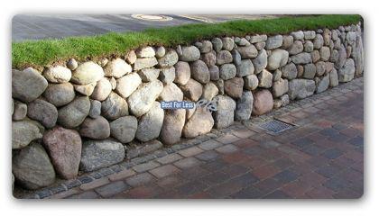 Findlinge Natursteine Felsen Steine Friesenwall - Vorschau 2
