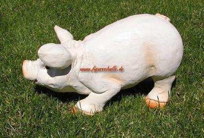 Rosa Schwein Figur Bauernhof Dekoration Statue - Vorschau 3