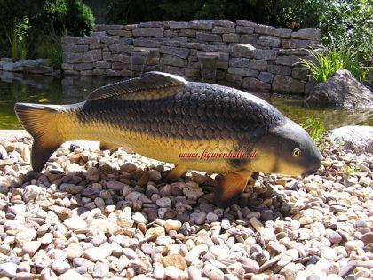 Karpfen Dekofigur Figur Fisch Angel Deko