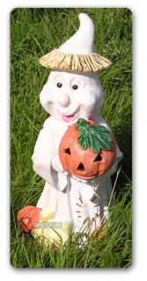 Geist Gespenst als Halloween Dekoration Figur Deko