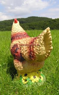 Huhn Figur für Bauernhof Deko - Vorschau 3