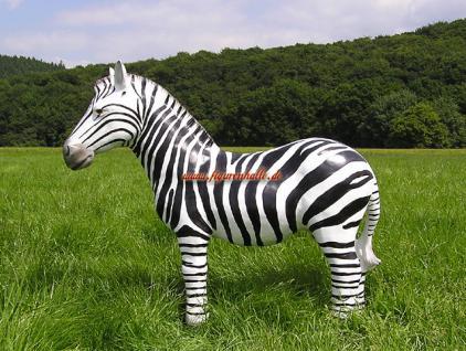 Zebra Figur Dekoration Statue Skulptur