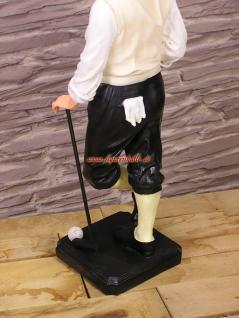 Golf Golfer Dekofigur Statue Skulptur Deko - Vorschau 3