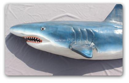 Hai Haifisch Lebensgroß Figur Skulptur Statue Deko - Vorschau 2