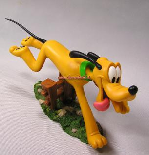 Pluto Classic Figur Zaund Statue Skulptur Walt Disney - Vorschau 5