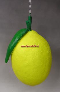Große Zitrusfrucht Zitrone Obst Dekoration Figur Werbung