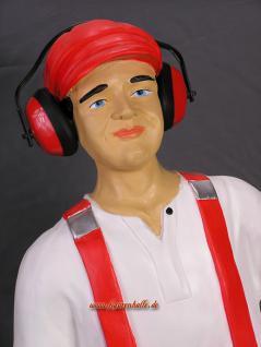 Werbefigur Schreiner Elektriker Mechaniker Figur Statue Werbeaufsteller - Vorschau 2