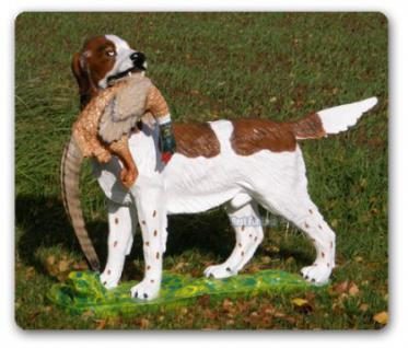 Münsterländer Jagdhund mit Fersan Tierfigur Figur - Vorschau 1