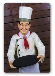 Doof von Dick und Doof Koch Werbefigur Figur