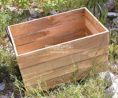 Holzkiste Holz Kiste Retro Obstkiste Nostalgie Blumenkiste