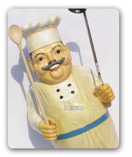 Koch Werbefigur für Imbisswagen oder Restaurant