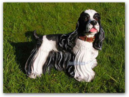 Japanischer Chin Figur Hunde Dekoration Dekofigur