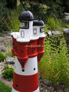 Leuchtturm roter Sand Dekofigur Maritime Deko - Vorschau 3