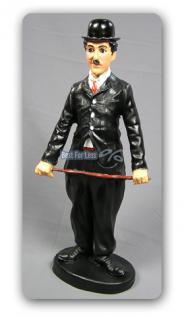 Charlie Chaplin Dekofigur Statue Dekoration Deko
