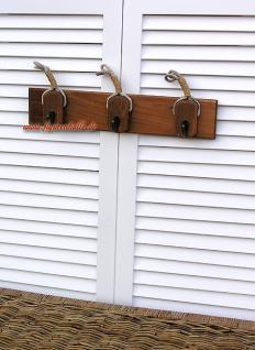 Schlüsselbrett schlüsselkasten Garderobe Maritim Deko Dekoration Harkenleiste - Vorschau 2