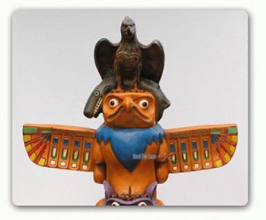 Indianer Marterpfahl als Dekofigur