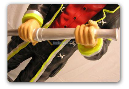 Feuerwehrmann als Dekofigur Lebensgroß Figur Deko - Vorschau 3