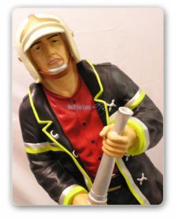 Feuerwehrmann als Dekofigur Lebensgroß Figur Deko - Vorschau 2
