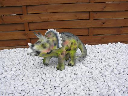 Dinosaurier Dreihorn Dekofigur Aufstellfigur Deko