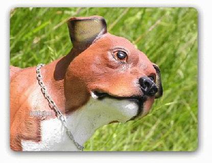 Pitbull Tierfigur Hundefigur Figur Deko Fan