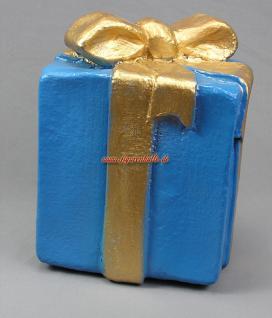 Geschenkpaket Deko Paket Weihnachts Deko Dekoration Geschenke