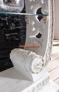 Antik Barock Vitrine Regal Rokoko Deko Dekoration Möbel - Vorschau 2