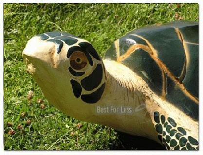 Wasserschildkröte Figur Schildkröte Dekofigur - Vorschau 3