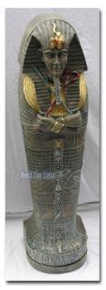 Ägyptischer Sarkophag als CD Ständer Dekofigur