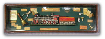 Antik Eisenbahn Dekoration Lockomotive Schafner
