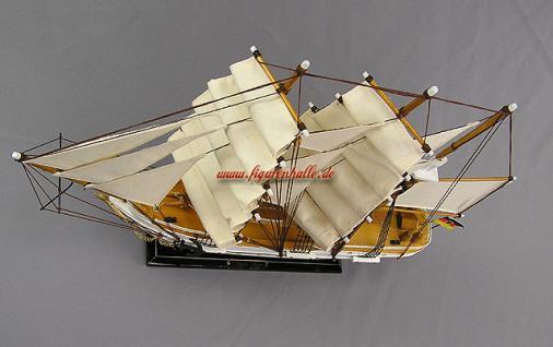 Gorch Fock Segelschiffmodell Modell Holz Schiff - Vorschau 4