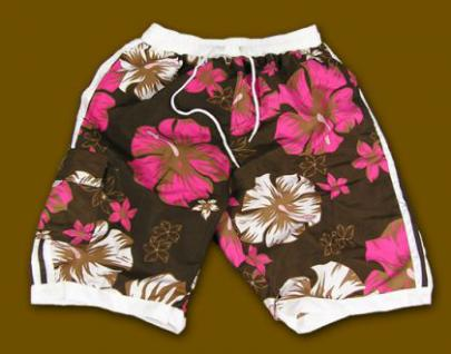 Hawaii BEACH Badeshorts Shorts Hibiscus