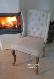 Chesterfild Sessel als Esszimmerstuhl Stuhl Maison Home Interieur